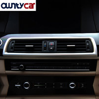 For BMW 5 Series F10 2011 2017 Car Dashboard Console Air Conditioning Outlet Vent Trim Decoration