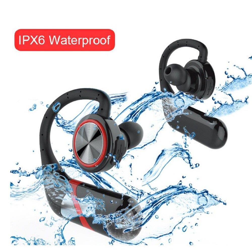 TWS-S800 étanche crochet d'oreille sans fil écouteurs Bluetooth suppression de bruit affaires sans fil écouteurs casque Bluetooth avec micro