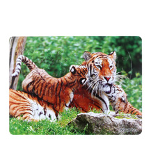 Купить с кэшбэком 3D Paper jigsaw puzzles toys for children kids toys brinquedos Wild Animal puzzle educational Baby toys Tiger Puzles Puzzel