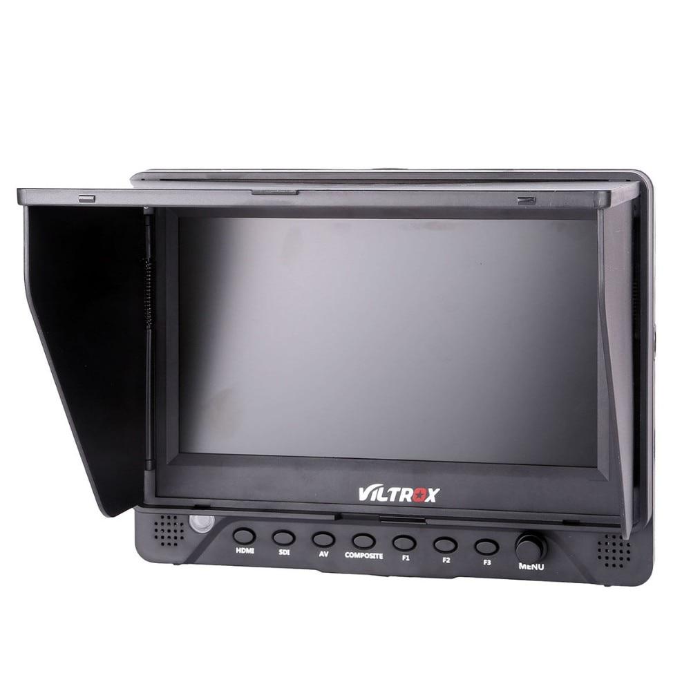 7'' Viltrox DC-70EX HD Clip-on HDMI/SDI/AV Input Output Camera Video LCD Monitor Display for DSLR Camera viltrox 7 dc 70 ii 1280x800 hd lcd hdmi av input camera video monitor display field monitor for canon nikon dslr bmpcc