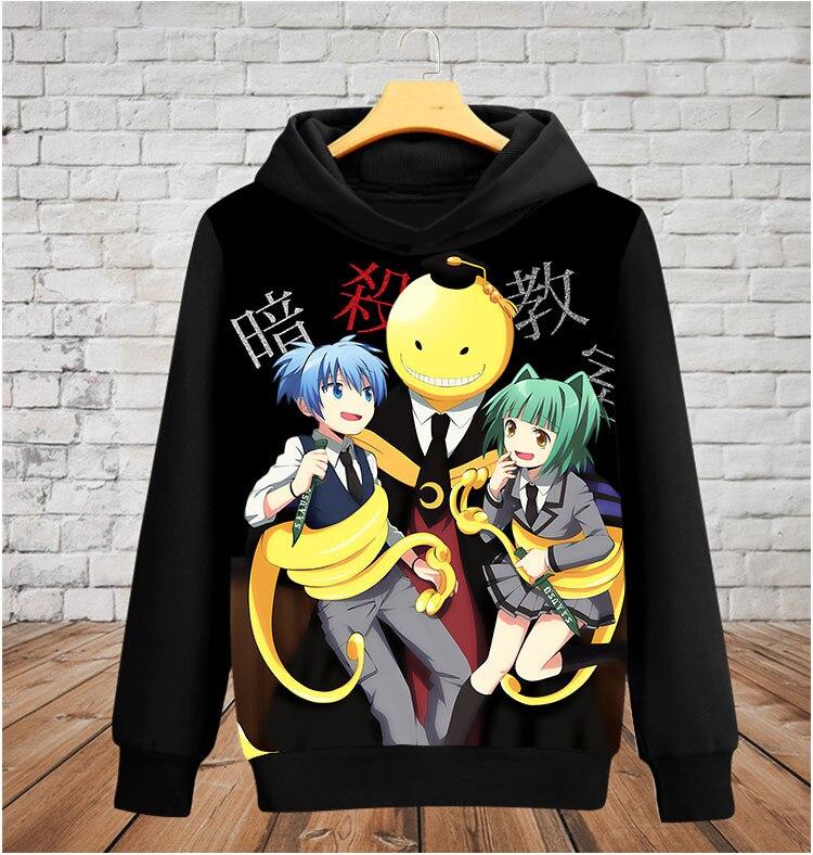 Assassinat classe Korosensei sweat à capuche Anime Cosplay Costome femmes/hommes sweat à capuche Sweatershirt