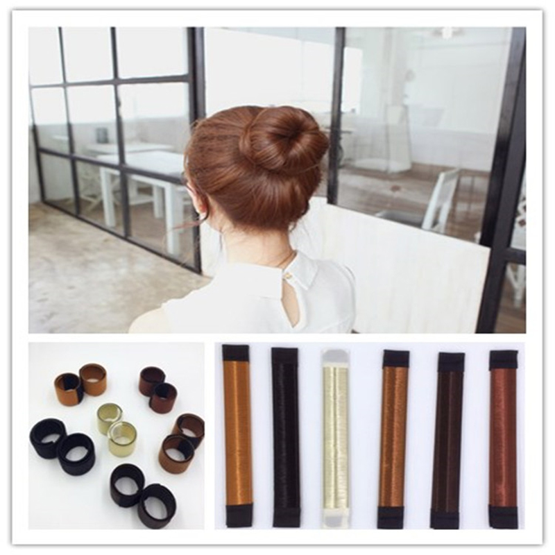 Hair Jewelry Jewelry & Accessories Synthetic Hair Accessories Wig Bud Head Band Ball Head Bun Maker Diy French Dish Hair Band Tool Complete Range Of Articles