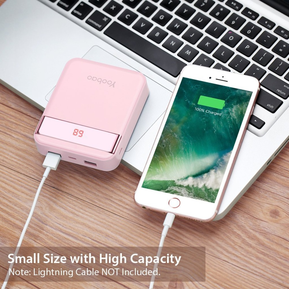 Mini Colorful Mobile Power Bank  5