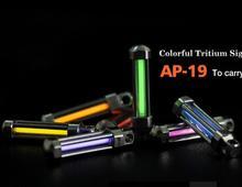 SUNWAYMAN AP-19 Colorful  Signal Lamp Pendant keychain 7 color avivailable