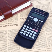 Функций научный калькулятор дисплей цифровой портативный