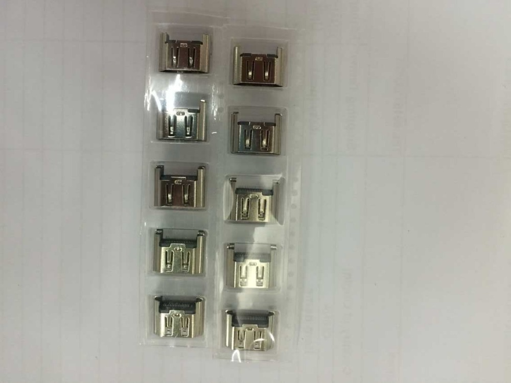 Video Games Consumer Electronics 5pcs/lot Silver Color Oem For Ps4 Hdmi Port Socket Interface Connector 1000 1100 Old Console
