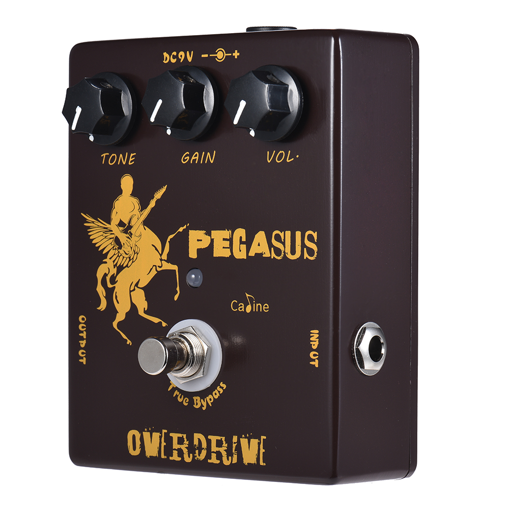 Good Quality Caline CP 43 Overdrive Guitar Effect Pedal Aluminum Alloy With True Bypass