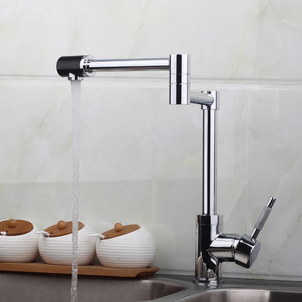 New 360 Swivel kitchen Basin Sink Faucet bathroom sink faucet chrome basin mixer tap JN8528