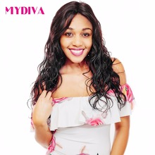 Mydiva Brazilian Body Wave Hair Bundle Remy Human Hair Extension Black Women Hair Weave One Piece Free Shipping