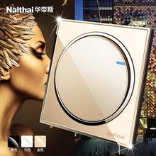 Настенный Выключатель 86 размера новый круглый дизайн роскошный