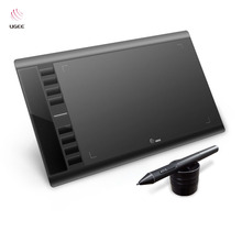 Ugee M708 10×6 Inch Drawing Area Drawing Tablet Digital Tablet+Drawing Pen For Art Design Ideal for left-handed artists