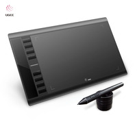 Ugee M708 10x6 Inch Drawing Area Drawing Tablet Digital Tablet+Drawing Pen For Art Design Ideal for left handed artists