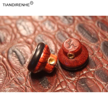 MMCX Jack DIY SE215 Earphone Ancient Chinese Red Sandalwood Wood Handmade for Shure SE535 In-ear Earphones Bass HIFI Headset
