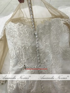 Image 5 - robe mariage Mermaid Wedding Dress Amanda Novias Real Work Photo 2019 Bride