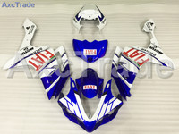 Motorcycle Fairings Kits For Yamaha YZF1000 1000 R1 YZF R1 2007 2008 07 08 ABS Injection Fairing Bodywork Kit Blue White