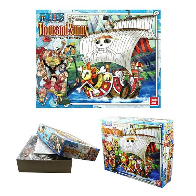 One Piece Thousand Sunny & Meryl Boat Pirate Ship PVC Action Figure Toy