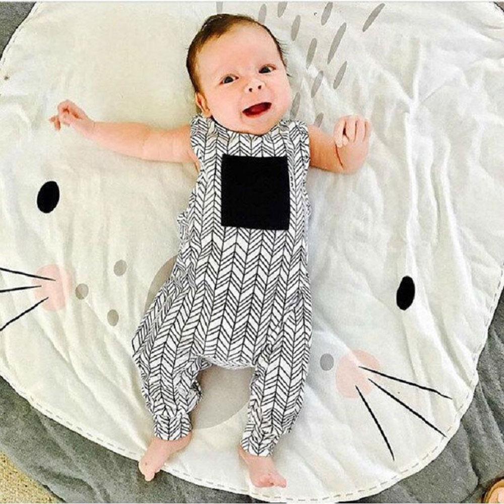 2017 Hot Sale Floor Rug Soft Kids Multi-Pattern Home Cotton Animal Decor Carpet Activity Ornament