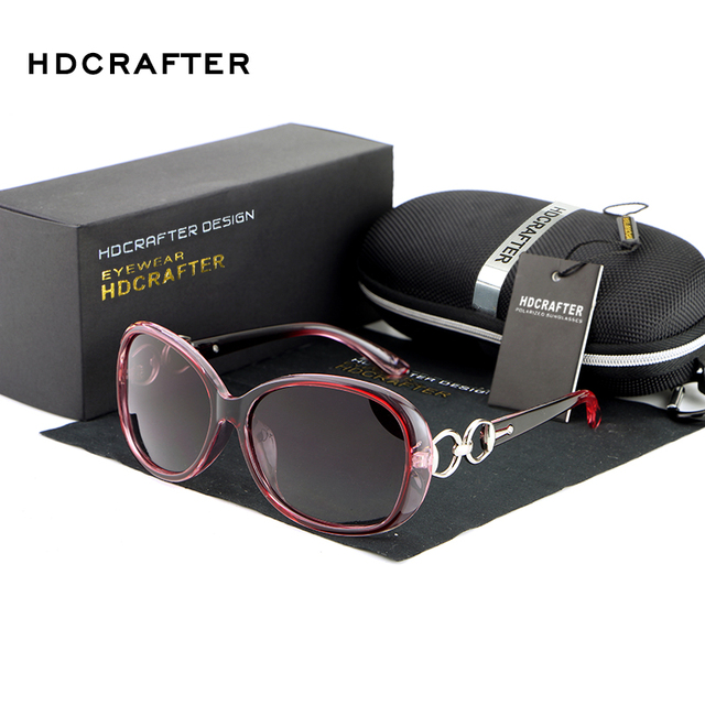 HDCRAFTER 2016 Women Luxury Fashion Summer Sun Glasses Vintage Sunglass  Goggles Eyeglasses