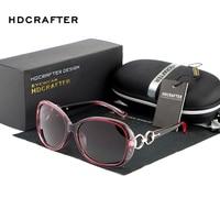 HDCRAFTER 2018 Women Luxury Fashion Summer Sun Glasses Vintage Sunglass Eyeglasses