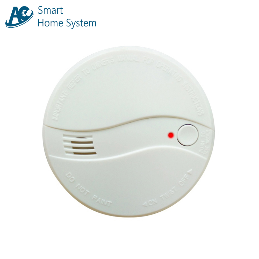 Top Rated Celling Mounted Home Security Fire Alert Smoking Device Standalone Photoelectric Smoke Alarm Detector