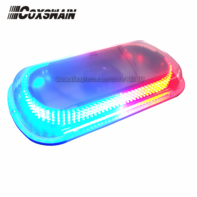 LED Mini lightbar for car, Total 400 GenI LEDs, Super bright, Powered by Cigarette plug, Heavy Magnetic, Waterproof (FS-336A)