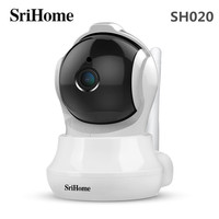SriHome SH020 1080P Wireless IP Camera Two way Audio Sharp HD Video Smart Motion Tracking IR Indoor AI Smart Surveillance Camera