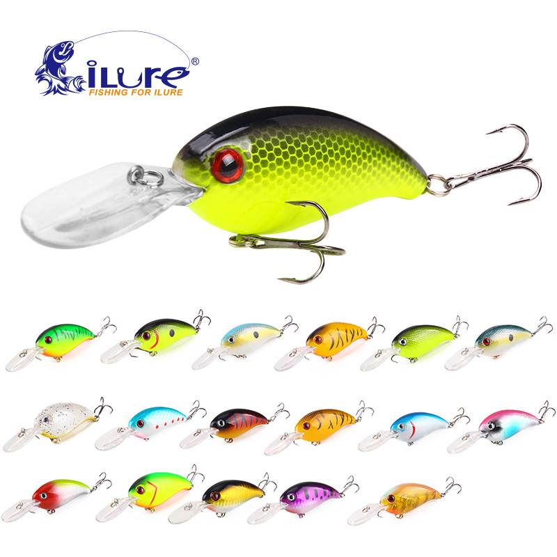 ILure Floating Deep Diving Crankbait Fishing Lures 13.6g/100mm Lifelike Wobbler With 6 # Hook Pesca Isca Artificial Bait Crank