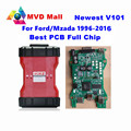 Newest V101 Full Chip VCM 2 OBD2 Diagnostic Scanner For Petrol/Diesel Cars For Mazda / Ford VCM2 IDS Scan Tool VCM II Post Free