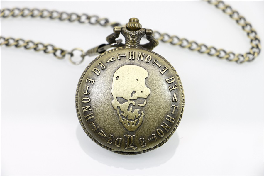 Death Note pocket watch with Chain