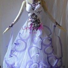 KAKA ТАНЕЦ B1517, новые Бальные Стандартный платье для танцев, Вальс Конкурс платье, бальные платья, Вальс платье для танцев