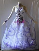 KAKA DANCE B1517,New Ballroom Standard Dance Dress,Waltz Competition Dress,Ballroom Dress,Waltz Dance Dress