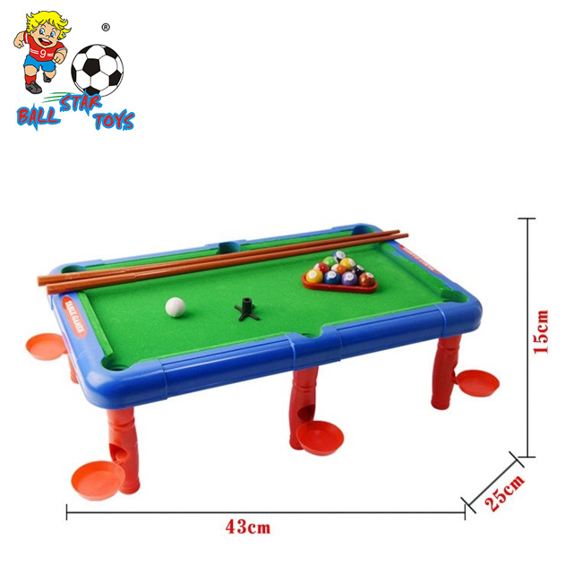 In Multi Function Mini Billiards Soccer Basketball Bowling Golf - Used mini pool table