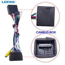 LEEWA Android Car Media Player Navi Radio CANBUS SCATOLA di cablaggio Per La Volkswagen Golf 5/6/Polo/ passat/Jetta/Tiguan/Touran #2012