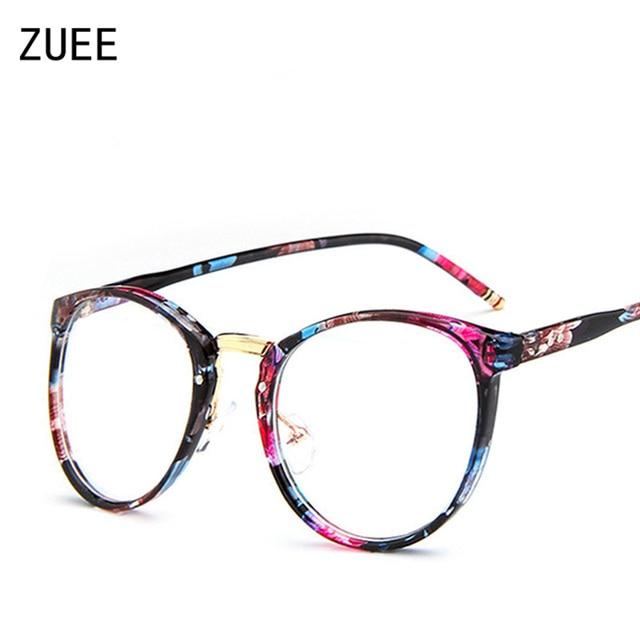 1fffd90ef6a New Unisex Korean Fashion Transparent Elegant Glasses Retro Round Large Frame  Eye Glasses Flat Light Mirror Men and Women