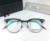 2017 Homens óculos de armação prescrição moda simples quadrado óculos metade aro da armação óptica THOM TB818 metal novo frete grátis
