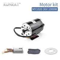 1000W 36V Bicycle Electric Motor Kit With Controller Chain For Elektro Bike Motor Set Bbike Sets Scooter Bike Conversion Kit