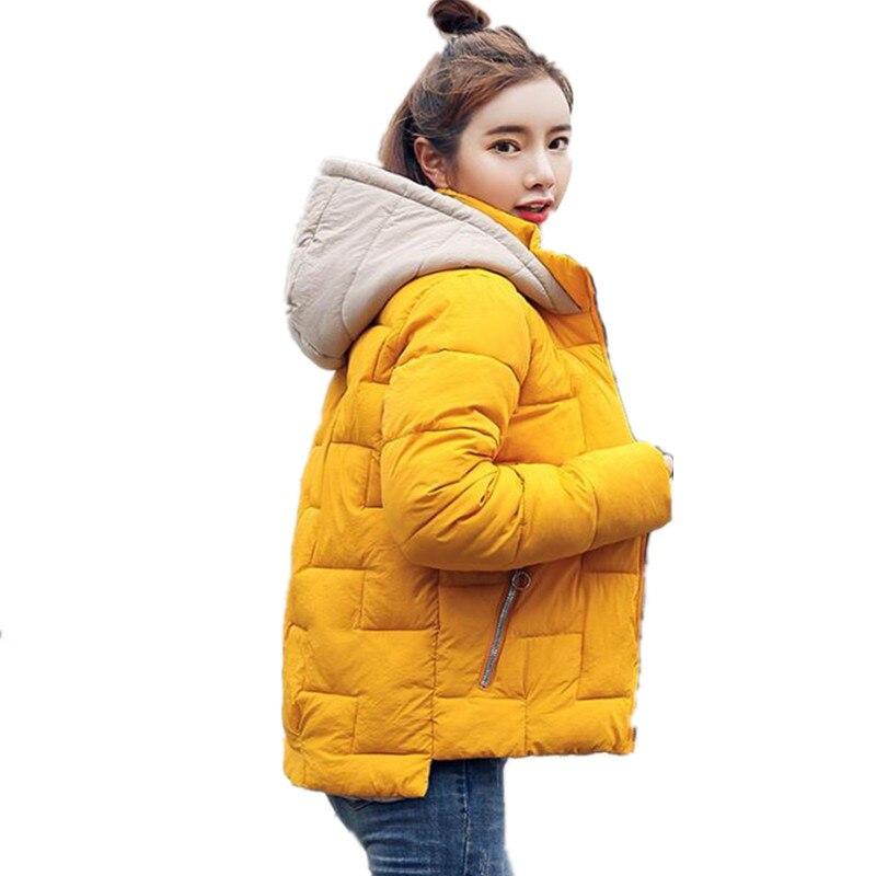 Winter jacket women new 2018   parka   female short cotton coat padded thick student jacket casacos de inverno feminino G202