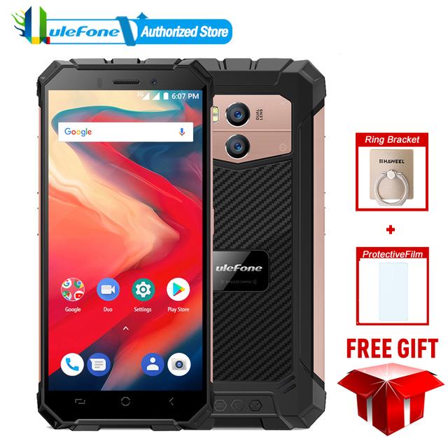 Ulefone Armor X2 IP68 Waterproof Mobile Phone Android 8.1 5.5″ HD+ Quad Core MT6580 2GB 16GB NFC Smartphone