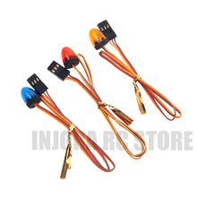 4PCS LED 램프 Strobing blasting/Flashing/Rotating Light 4.8 6V 1:14 Tamiya 트랙터 RC 굴삭기 엔지니어링 트럭 카