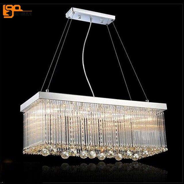 Neues Design Zeitgenössische Moderne Kronleuchter Kristall Lampe Kronleuchter  Für Esszimmer Hängeleuchte