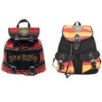 Harry Potter Hogwarts Gryffindor Knapsack Mochila Backpack Harry Potter School Bags Women Bag Unisex Cosplay