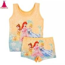 Summer 2019 Kids Girls Pajamas Sets Anna Elsa Pyjamas Baby G