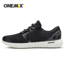 ONEMIX Mens Running Shoes Cool Sneakers Deodorant Insole Soft Comfortable For Outdoor Super Lightweight