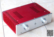 WANBO Audio JF001 Full aluminum audio box good radiating power amplifier case 300 x 211 x 80 (mm)