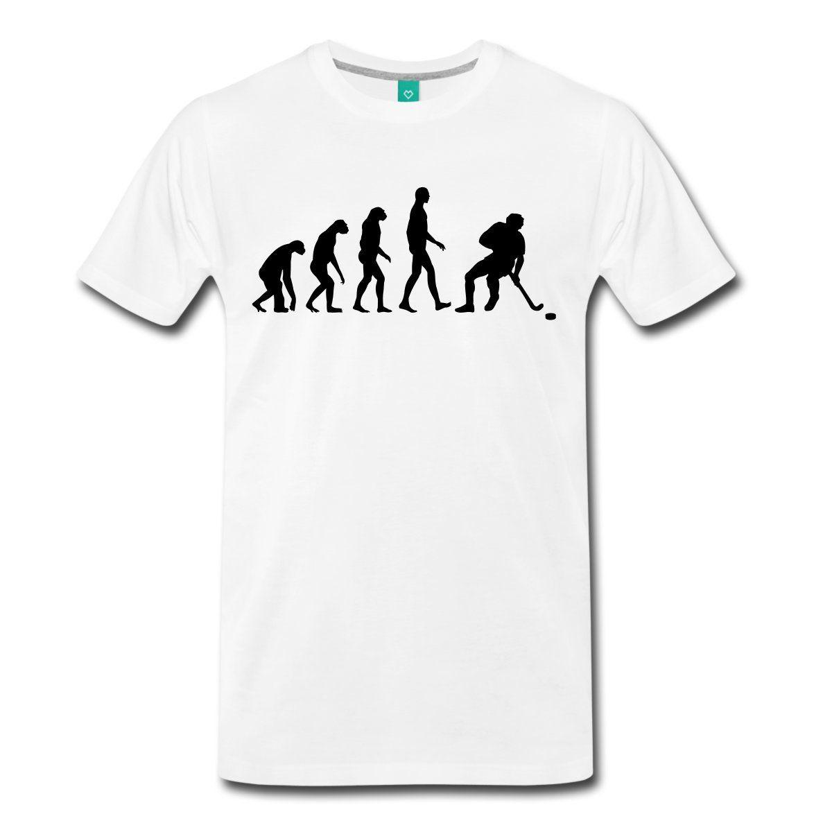 Evolution Hockeyer Men S T Shirt Male Harajuku Top Fitness