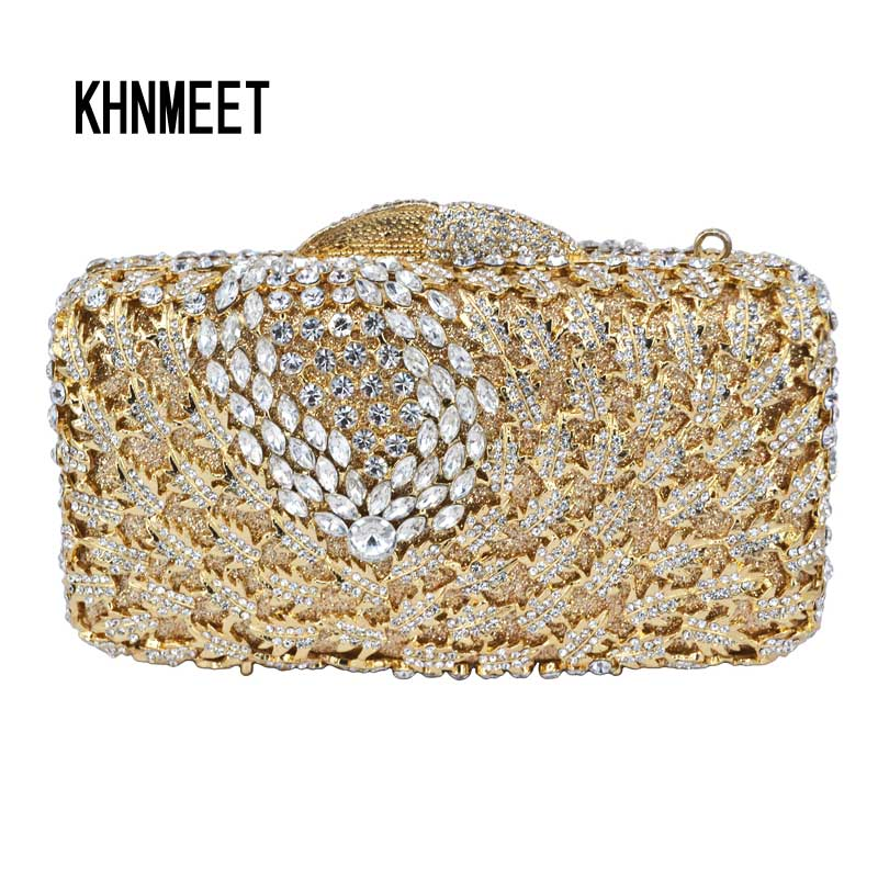 Luxury Crystal Hollow Out Evening Bag Women Day Clutches Bling Bag Silver Party Purse Pochette bride diamante bag SC229 yuanyu 2018 new hot free shipping real python leather women clutch women hand caught bag women bag long snake women day clutches