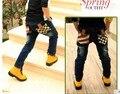2016 Новый дизайн мальчиков джинсы для 2-7 лет розничная дропшиппинг B008