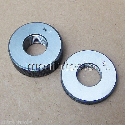 M14 x 1 Right hand Thread Ring Gage m21 x 1 right hand thread gauge plug gage