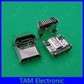 50pcs/lot 100% original new Micro USB Charger connector charging dock Port For Samsung Galaxy I9200 I9205 Tab 3 10.1 P5200