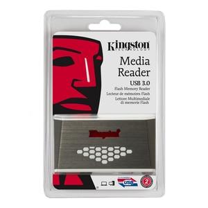 Image 5 - Kingston micro leitor de cartão sd usb3.0 leitor de mídia cf tf ms sdhc/sdxc UHS I microsd multi função cartão de memória flash adaptador usb